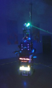 8-Foot-Robot-Cat at Birchgrove Community Centre