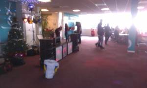 Cardiff  Children's Entertainer at Cardiff Airport
