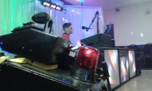 DJ Diamond Dust at Cwmgwrach