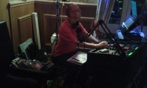 DJ Mart at Purple Badger, Llanrhidian