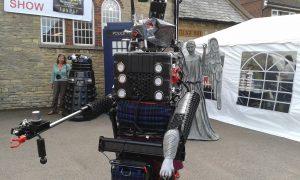 8-Foot-Robot-Cat at Smallspace 5, Milton Keynes