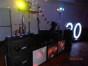 DJ Diamond Dust at New Dock Stars, Llanelli
