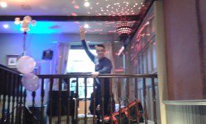 DJ Tom Hyatt in Swansea