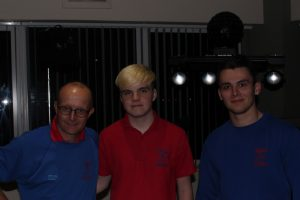DJs Martin, Ethan and Tom in Neath