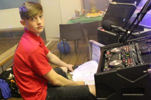 DJ Jack Kelly Roberts in Abercrave
