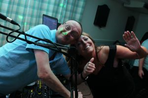 DJ Martin Thompson at South Caravan Park, Whitland