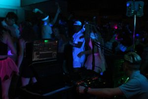 DJ Ethan Gray in Cardiff Harlequins Teenage UV Disco
