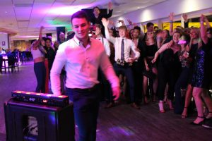 DJ Diamond Dust at Swansea Stadium Christmas Party
