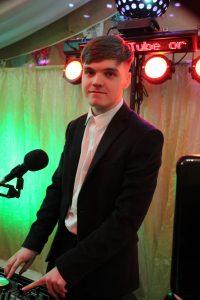 Wedding DJ Ethan Gray at Llanidloes
