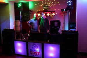 DJ Diamond Dust with DJ's Martin and Ethan