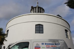DJ  Diamond Dust at The West Usk Lighthouse, Newport, Gwent