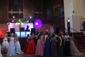 DJ Diamond Dust at the Brangwyn Hall - prom 2019