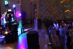 DJ Diamond Dust at Brangwyn Hall, Swansea