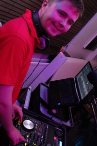 DJ Diamond Dust's Corey at Maesteg Celtic Club