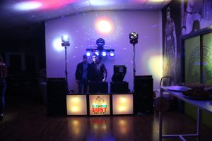 DJ Ethan Gray and DJ Tom Hyatt at Lewis Jones Bar, Gorseinon