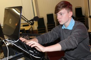 DJ Kelly Jack Roberts at Tonna RFC, Neath