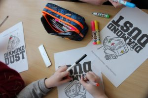 Robot Workshop in Schools - Colouring sheets
