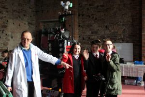 8-Foot-Robot-Cat at Margam Castle STEM weekend
