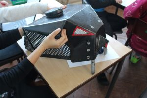 Robot Workshop in Schools - Robot parts