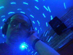 DJ Martin - UV disco for 13th birthday party in Neath