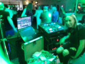 Swansea DJ Chloe Collins