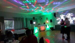 DJ Diamond Dust at a Wedding Anniversary at Abercynon Rugby Football Club