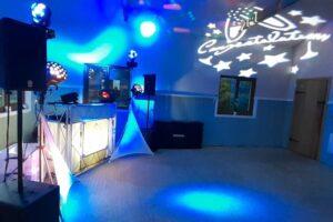 DJ Diamond Dust Wedding Disco at Glyndwr Vineyard